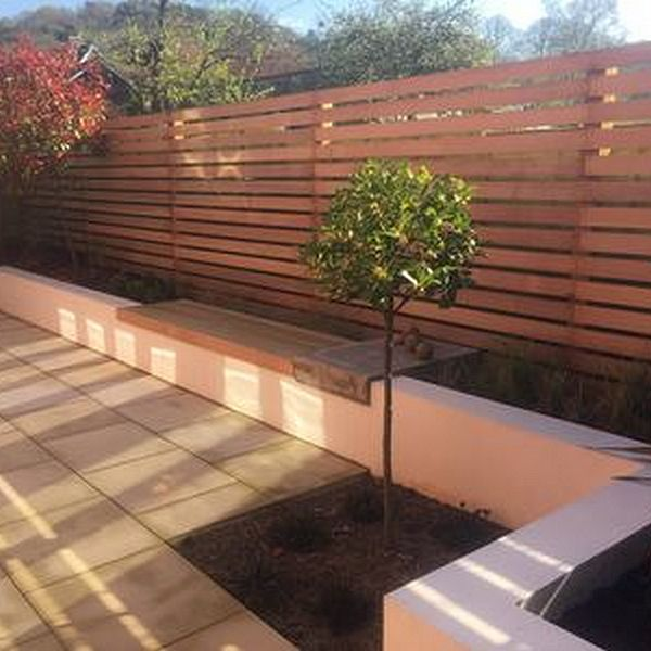 Low Maintenance Contempary Garden Space