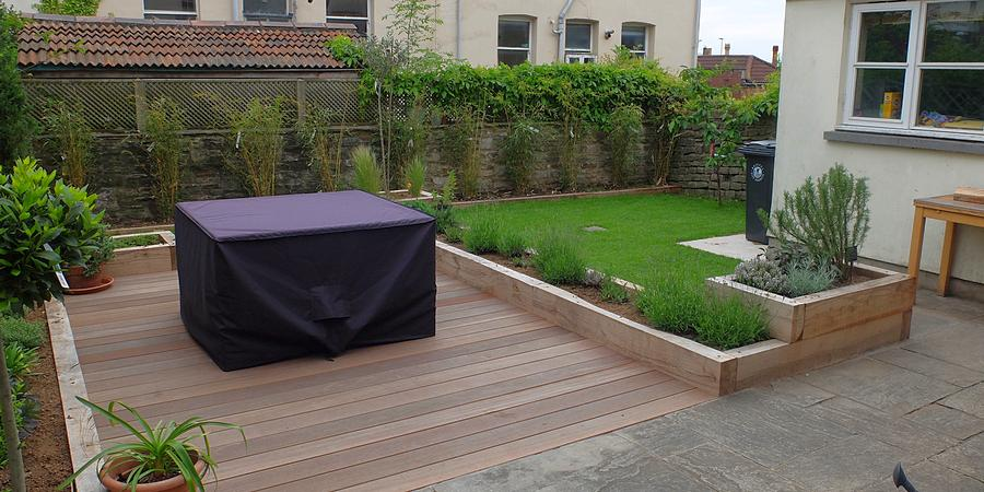 Garden design and decking